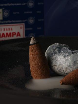Satya Nag Champa Backflow Cones 24pcs
