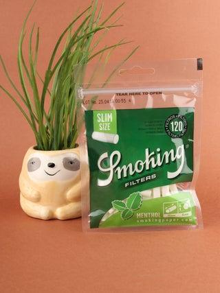 Smoking Menthol Super Slim Filters