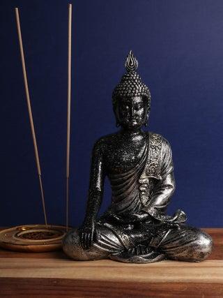 Thai Buddha black 22cm