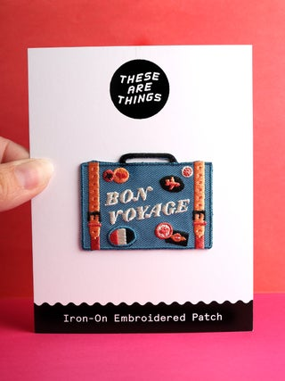 These Are Things Patch- Bon Voyage