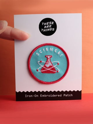 These Are Things Patch- Science