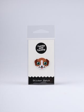 These Are Things Sticker Patch- Beagle Dog