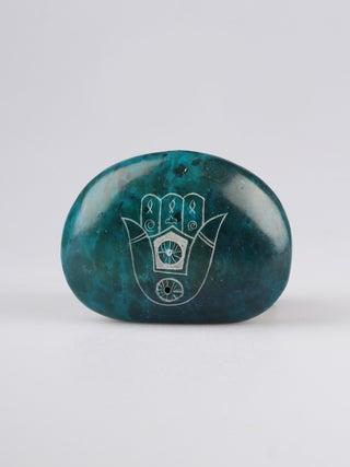 Trade Aid Blue Stone Incense Holder
