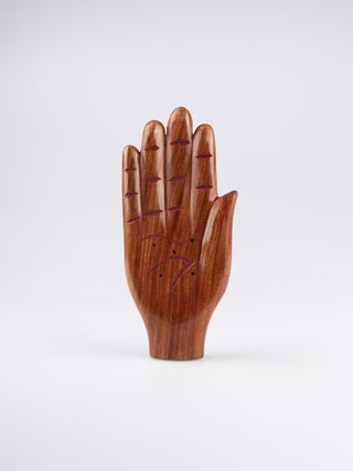 Trade Aid Incense Holder Wooden Hand