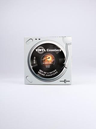 Vinyl Coasters Set of 4