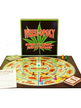 Weedopoly Boardgame