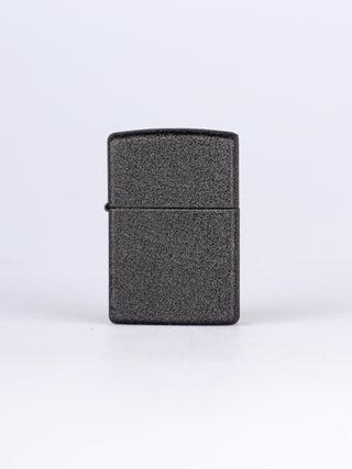 Zippo Pure Black Crackle